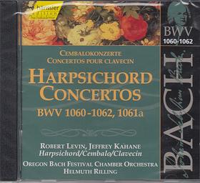 Bach - HARPSICHORD CONCERTOS CD