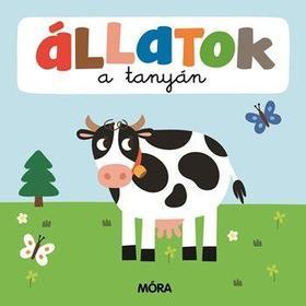 Állatok a tanyán- Képeskönyv kicsiknek Összekapcsolható puzzle darabokkal