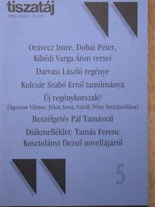 Ágoston Vilmos - Tiszatáj 1998. május [antikvár]