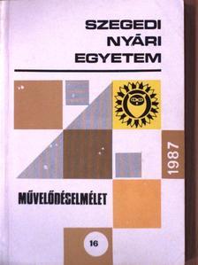 Ágh Attila - Szegedi Nyári Egyetem - Művelődéselmélet 1987 [antikvár]