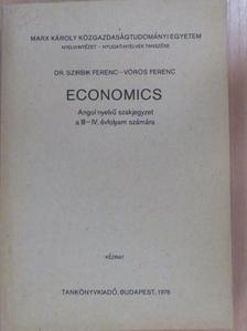Dr. Szirbik Ferenc - Economics [antikvár]
