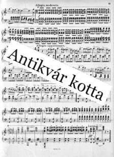 Chopin - MAZURKÁK ZONGORÁRA, ANTIKVÁR