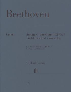 BEETHOVEN - SONATE C-DUR OP.102 NR.1 FÜR KLAVIER UND VIOLONCELLO