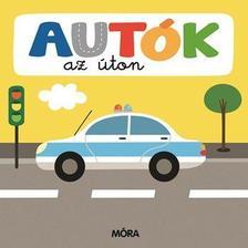 Autók az úton - Képeskönyv kicsiknek Összekapcsolható puzzle darabokkal