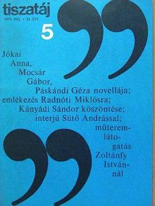 Pomogáts Béla - Tiszatáj 1979. május [antikvár]