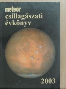 Apai Dániel - Meteor csillagászati évkönyv 2003 [antikvár]