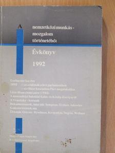 Alekszandr Vatlin - A nemzetközi munkásmozgalom történetéből 1992 [antikvár]