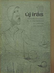 Ágh István - Új Írás 1974. október [antikvár]