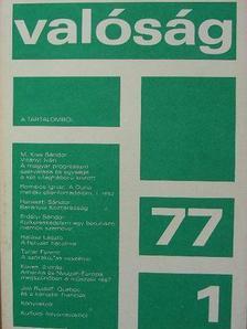 Dobozi István - Valóság 1977. január [antikvár]