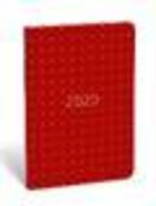 19712099 - Zsebnaptár tűzött B6 aranyozott Gold for men Red dot - 2020