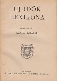 Herczeg Ferenc - Uj idők lexikona XV. kötet [antikvár]