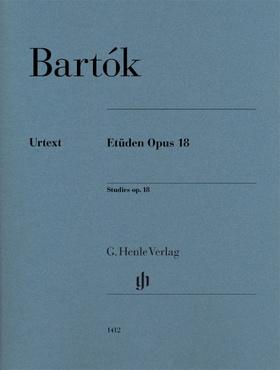 BARTÓK - ETÜDEN OP.18