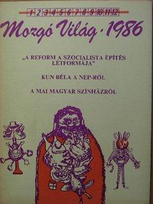 Balázs István - Mozgó Világ 1986. február [antikvár]