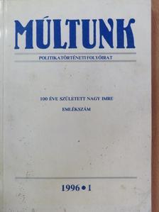 Föglein Gizella - Múltunk 1996/1. [antikvár]