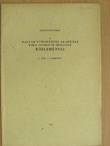 Csűrös Zoltán - Katalizátoros vizsgálatok IX. [antikvár]