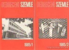 Debreceni szemle 1985/1-2. szám [antikvár]
