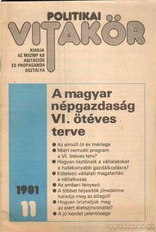 Politikai vitakör 1981/11 [antikvár]