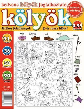 CSOSCH KIADÓ - Kedvenc Kölyök Foglalkoztató 31.