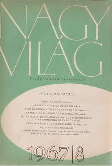 Kardos Tibor - Nagyvilág 1967/8. [antikvár]