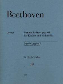 BEETHOVEN - SONATE A-DUR OP.69 FÜR KLAVIER UND VIOLONCELLO