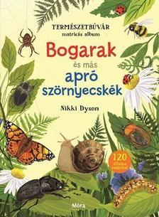 Bogarak és más apró szörnyecskék - Természetbúvár matricás album