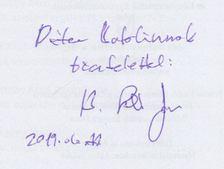 B. Szabó János - Erdély tragédiája 1657-1662 (dedikált) [antikvár]