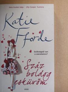 Katie Fforde - Száz boldog esküvőm [antikvár]