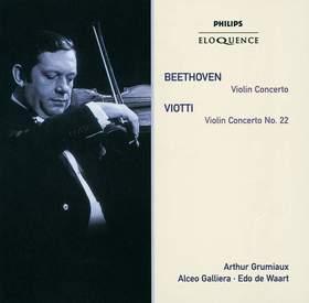 BEETHOVEN - VIOLIN CONCERTO CD GRUMIAUX
