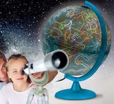 Föld- és csillaggömb 25cm (NIGHT&DAY) világító