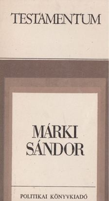 Márki Sándor - Márki Sándor [antikvár]