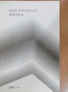 Gálig Zoltán - Szociológiai szemle 2005/4. [antikvár]