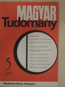 Alpár Gyula - Magyar Tudomány 1987. május [antikvár]