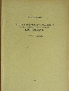 Csűrös Zoltán - Katalizátoros vizsgálatok VII. [antikvár]