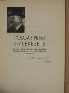 Donászy Kálmán - Polgár Péter emlékezete [antikvár]
