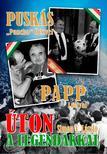 """SIMON V. LÁSZLÓ - ÚTON A LEGENDÁKKAL - Puskás """"Pancho""""Öcsivel , Papp Lacival"""