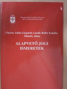 Chertes Attila - Alapvető jogi ismeretek [antikvár]