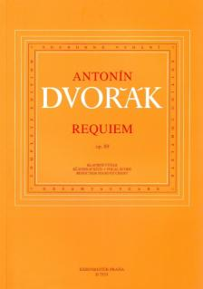 Antonin Dvorak - REQUIEM OP.89 KLAVIERAUSZUG KRITISCHE AUSGABE (KAREL SOLC)