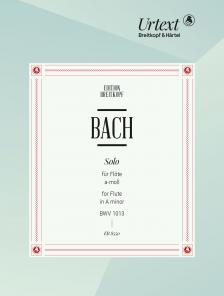 J. S. Bach - SOLO FÜR FLÖTE a-MOLL BWV 1013 URTEXT (HERAUSG. UND KOMM. VON B. KUIJKEN)