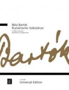 Bartók Béla - RUMAENISCHE VOLKSTAENZE FÜR FLÖTE UND KLAVIER BEARB. VON ITTZÉS GERGELY