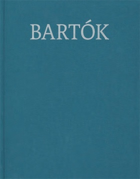 Bartók Béla - BARTÓK COMPLETE EDITION 38 - WORKS FOR PIANO 1914-1920. LN