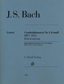 J. S. Bach - CEMBALOKONZERT NR.1 d-MOLL BWV 1052 KLAVIERAUSZUG