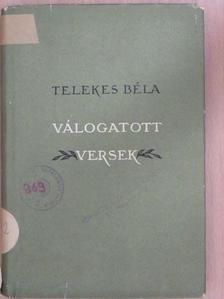 Telekes Béla - Válogatott versek [antikvár]