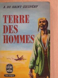 Antoine de Saint-Exupéry - Terre des hommes [antikvár]
