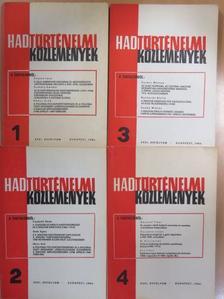 Domokos György - Hadtörténelmi Közlemények 1984/1-4. [antikvár]