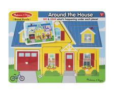 10734 - M&D - Hangos puzzle, a ház körül