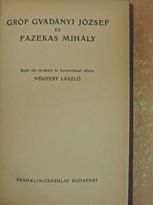 Fazekas Mihály - Gróf Gvadányi József és Fazekas Mihály [antikvár]