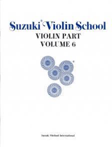 SUZUKI - SUZUKI VIOLIN SCHOOL VIOLIN PART VOLUME 6