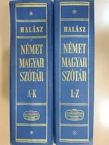 Halász Előd - Német-magyar szótár I-II. [antikvár]