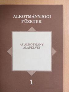 Bogdán Tibor - Az alkotmány alapelvei [antikvár]