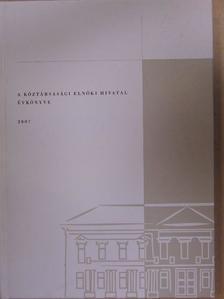 Sólyom László - A Köztársasági Elnöki Hivatal évkönyve 2007 - DVD-vel [antikvár]